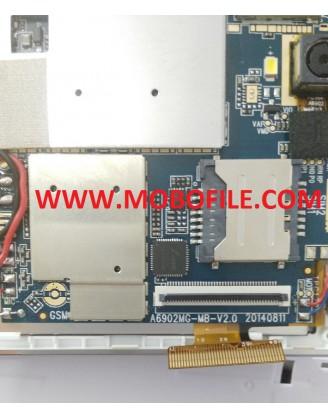 فایل فلش تبلت  چینی با مشخصه برد A6902MG-MB-V2.0 20140811