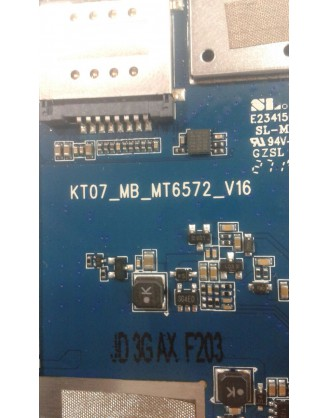 فایل فلش تبلت  چینی  با مشخصه برد KT07_MB_MT6572_V16