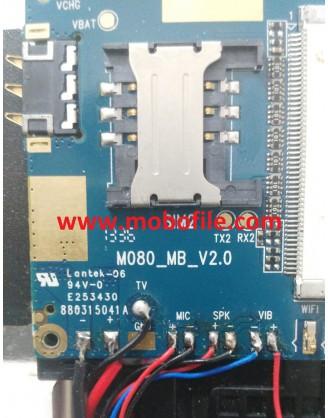 فایل فلش تبلت  چینی  ZTC D160 با مشخصه برد M080_MB_V2.0